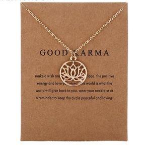 Jewelry - Good Karma necklace 4 for $20